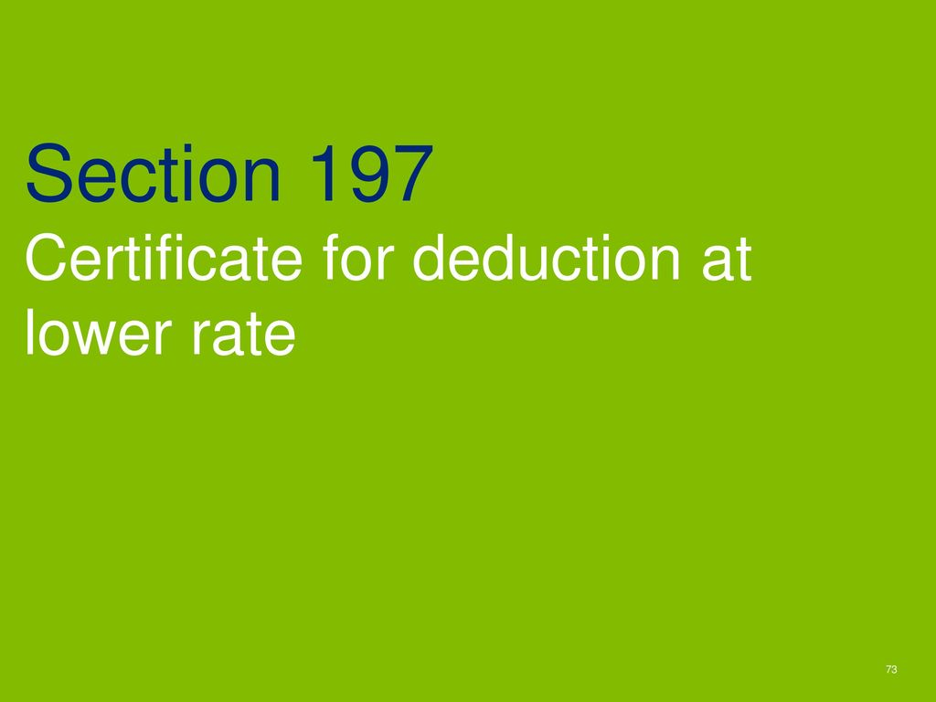 Section-197-Certificate-for-deduction-of-TDS-at-lower-rate