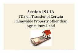 TDS-on-Sale-of-Immovable-Property-Section-194IA